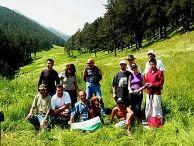 Част от участниците в експедицията.