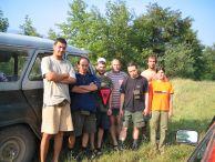 """Участниците в експедиция """"Голо бърдо""""- Албания 2004"""