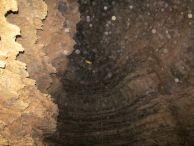 """Водопада в пещерата. Автор: Цветелина Валерианова ПК """"Хеликтит"""" София."""