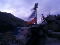 В лагера.