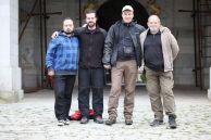 Участниците в експедицията: Константин Стоичков, Неманя Милославлевич, Иля Агапов и Алексей Жалов.