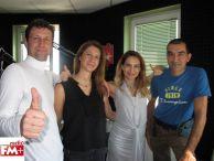 Владо и Яни в предаването на Ива Дойчинова по Радио ЕM+