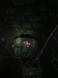 "Станислав Асенов, на входа на подземието. Автор: Константин Стоичков ПК ""Хеликтит"" София."
