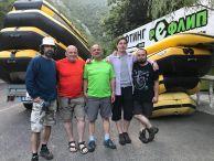 Участниците в експедицията от ляво на дясно: Йордан Йорданов, Алексей Жалов (ръководител), Ладислав Цветков, Милен Кръстев и Константин Стоичков.