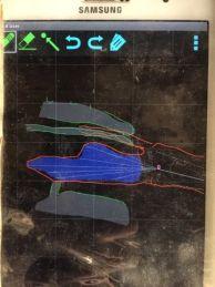 "Карта на сифонът. Автор: Станислав Асенов ПКСУ ""София""."